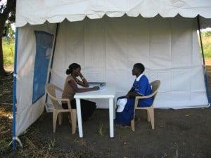 legal consultation in Soroti, Uganda © ASF