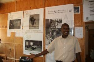 Jean Berchmans Ndayishimiye, responsable du bureau d'ASF à Gitega
