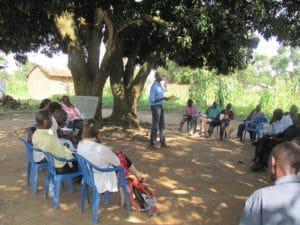 Plattelandsgemeenschappen in Noord-Uganda worden bewustgemaakt van overgangsjustitie