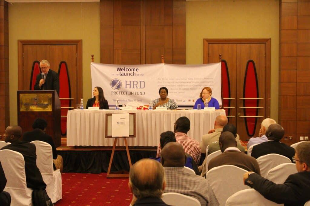 Durant les dernières semaines, les cérémonies officielles de lancement du Fonds se sont tenues à Kampala (photo), Kigali, Dar es Salam et Nairobi © ASF.