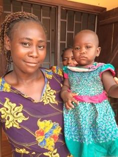 Léana et sa fille Esther